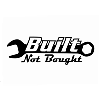 JDM Built not Bought Die Cut Vinyl Decal PV2290