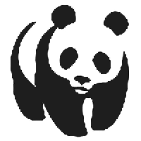 JDM Panda Die Cut Vinyl Decal PV460