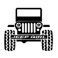 Jeep Girl Die Cut Vinyl Decal PV1881