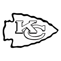 Kansas City Chiefs NFL Die Cut Vinyl Decal PV621