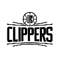 LA Clippers NBA Die Cut Vinyl Decal PV1888