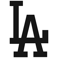 Dodgers LA Die Cut Vinyl Decal PV162