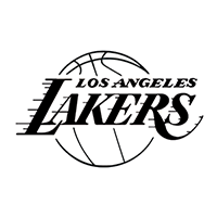 LA Lakers NBA Die Cut Vinyl Decal PV233