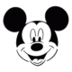 Micky Mouse Die Cut Vinyl Decal PV720