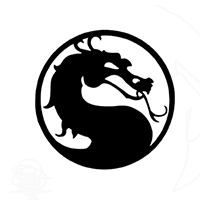 Mortal Combat Die Cut Vinyl Decal PV314
