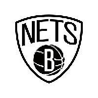 NBA Brooklyn Nets Die Cut Vinyl Decal PV933