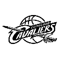 NBA Cleveland Cavaliers Die Cut Vinyl Decal PV778