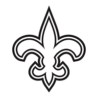NFL New Orleans Saints Die Cut Vinyl Decal PV611