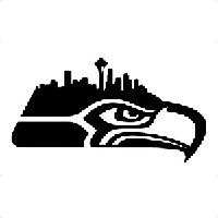NFL Seattle Seahawks Die Cut Vinyl Decal PV1022