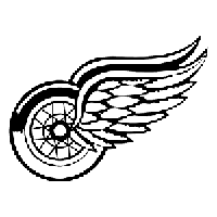 NHL Detroit Red Wings Die Cut Vinyl Decal PV1153