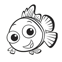 Nemo Die Cut Vinyl Decal PV1378