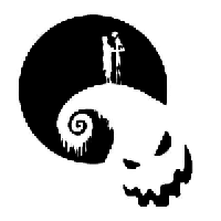 Nightmare Before Christmas Die Cut Vinyl Decal PV2243