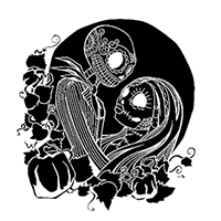 Nightmare Before Christmas Die Cut Vinyl Decal PV2434