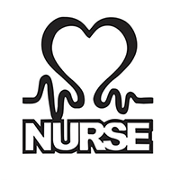 Nurse Die Cut Vinyl Decal PV2225