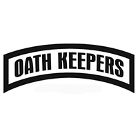 Oath Keepers Die Cut Vinyl Decal PV2448