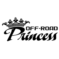 Off Road Princess Die Cut Vinyl Decal PV167