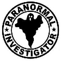 Paranormal Investigator Die Cut Vinyl Decal PV1292