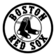 Redsox MLB Die Cut Vinyl Decal PV122