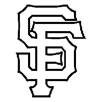 San Francisco Giants MLB Die Cut Vinyl Decal PV1840