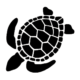 Sea Turtle Die Cut Vinyl Decal PV993