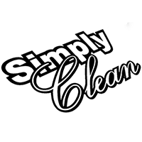 Simply Clean Die Cut Vinyl Decal PV2298