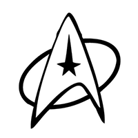 Star Trek Die Cut Vinyl Decal PV1362