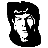 Star Trek Spock Die Cut Vinyl Decal PV974