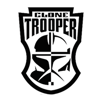 Star Wars Clone Trooper Die Cut Vinyl Decal PV2227