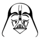 Star Wars Darth Vader Die Cut Vinyl Decal PV1024