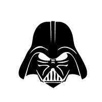 Star Wars Darth Vader Die Cut Vinyl Decal PV2356