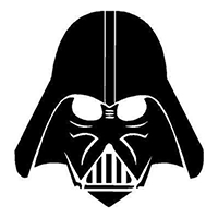 Star Wars Darth Vader Die Cut Vinyl Decal PV380