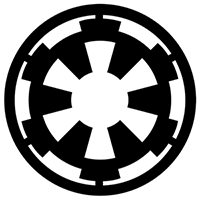 Star Wars Galactic Empire Die Cut Vinyl Decal PV322