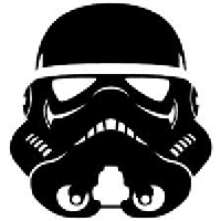 Star Wars Stormtrooper Die Cut Vinyl Decal PV775