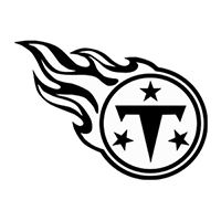 Tennessee Titans NFL Die Cut Vinyl Decal PV634