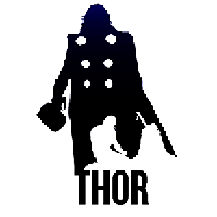 Thor Die Cut Vinyl Decal PV642