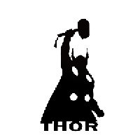 Thor Die Cut Vinyl Decal PV643