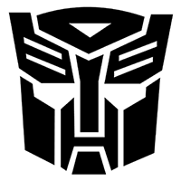 Transformers Die Cut Vinyl Decal PV285