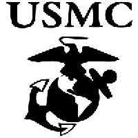 USMC Die Cut Vinyl Decal PV1130