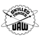 United Auto Workers Skilled Trades Logo Die Cut Vinyl Decal PV2049