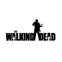 Walking Dead Die Cut Vinyl Decal PV2327