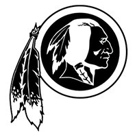 Washington Redskins NFL Die Cut Vinyl Decal PV631