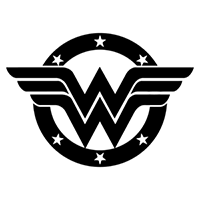 Wonder Woman Die Cut Vinyl Decal PV1914
