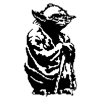 Yoda Die Cut Vinyl Decal PV1213