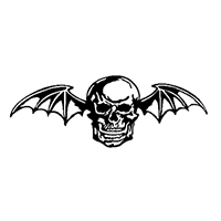 Avenged Sevenfold Die Cut Vinyl Decal PV191