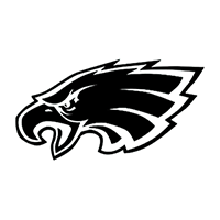 Philadelphia Eagles NFL Die Cut Vinyl Decal PV617