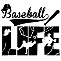 Baseball Life Die Cut Vinyl Decal pv3094