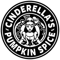 Cinderella Coffee Die Cut Vinyl Decal pv3102