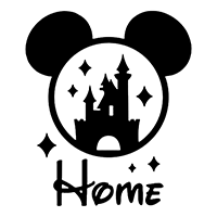 Disney Home Die Cut Vinyl Decal pv3055
