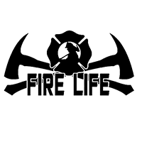 Fire Life Die Cut Vinyl Decal pv3118