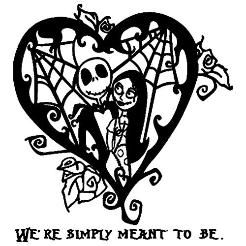 Jack Skellington Die Cut Vinyl Decal pv3004